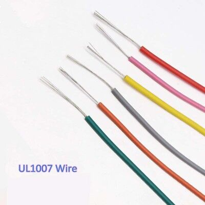 UL1007 26AWG Cable Equipment Electrical Stranded Wire AWM Copper Tinned Hook-Up