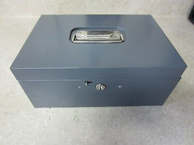 Vintage Metal Document Box - Storage, Important Documents, Money, Anything Else?