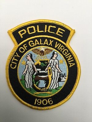 Galax Police, Virginia old type shoulder patch