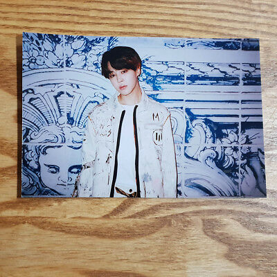 Jimin Official Unreleased Live Photo 2018 BTS Exhibition Book Today Kpop Genuine