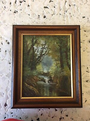 Tableau ancien huile William Powell