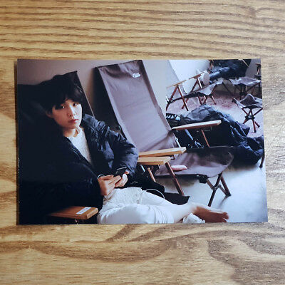 Suga Official Unreleased Live Photo 2018 BTS Exhibition Book Today Kpop