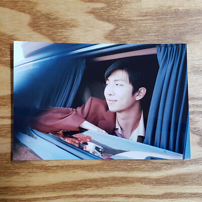 RM Official Unreleased Live Photo 2018 BTS Exhibition Book Today Kpop Genuine