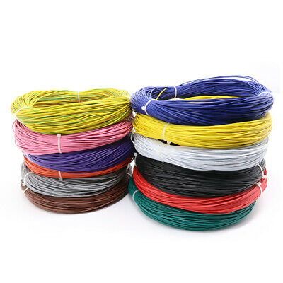 RoHS UL1007 22AWG PVC Electrical Cable Multi-Stranded Wire Tinned Copper Hook-Up