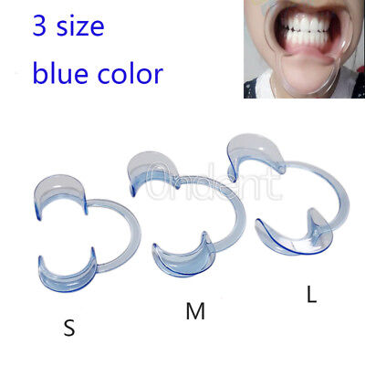 Dental Mouth Opener Teeth Cheek Retractor Tooth Intraoral Lip C Type S M L Oral