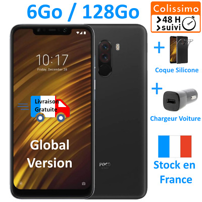 Pocophone F1 - 6Go ⭐128Go⭐- Snapdragon 845 💛Colissimo 48h  +⚡Chargeur voiture