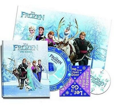 Disney's FROZEN The Songs LIMITED 'ZinePak SOUNDTRACK CD with ORNAMENT & Poster