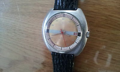 philly -huge manual winding watch ,old vintage watch, made in swiss working good
