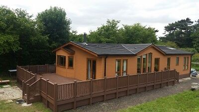 Mobile Home, Prefab Timber Frame House, Chalet, Twin units, prefab home