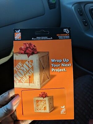 $250 The Home Depot Physical Gift Card - 1st Class Mail with tracking