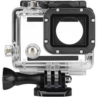 FitStill Replacement Dive Housing Case Waterproof Housing for HERO4, HERO3+ and