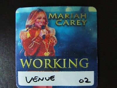 Mariah Carey All I Want For Christmas Tour 2018 Backstage Satin Pass