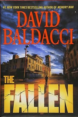 The Fallen (Memory Man series) by David Baldacci - Hardcover - Retail $29.00