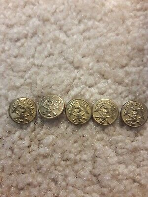 Principia college buttons lot of 5