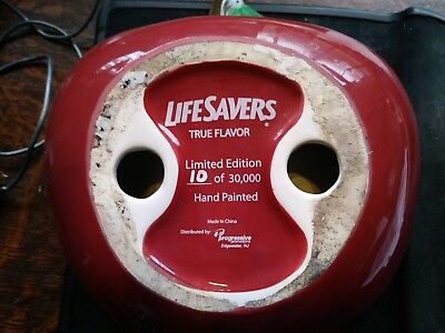 Life Savers Hand Painted Red Apple Candy Dish #10 of 30,000 ! Collectible Gift