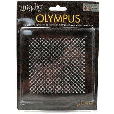 Wigjig Olympus Patented Original Jig with 30 pegs Wig Jig 130 x 130 x 12mm - HJ4