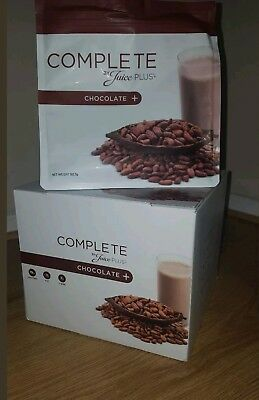 NEW!! FREE POSTAGE! Juice Plus Complete Chocolate Shakes - new & improved/sealed