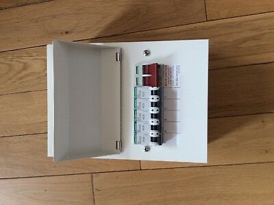 Crabtree loadstar amm3 metal consumer unit  5 way with 100 amp d/pole switch