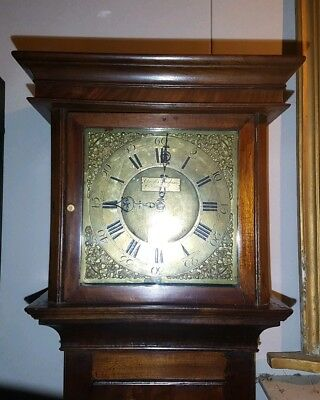 WELSH LONGCASE GRANDFATHER CLOCK BY Selby of Wareham 8 day