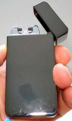 Nwb  Electrical Lighter Dual Arc Windproof Usb Rechargeable Plasma Lighter