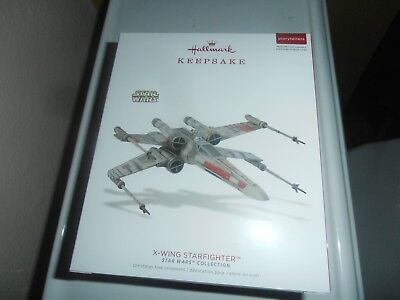 Hallmark Star Wars  keepsake interactive ornament Star Fighter.