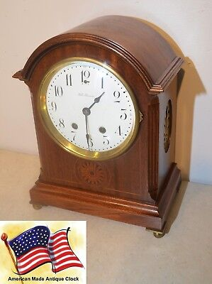 Fully Restored Seth Thomas Tory - 1913 Antique Time&strike Cabinet Clock