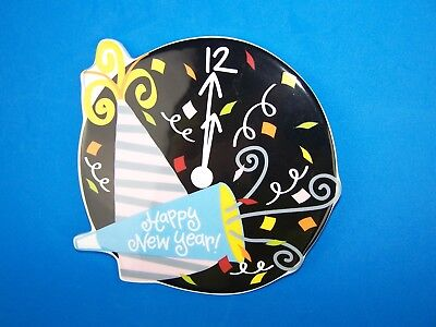 """Coton Colors """"Happy New Year""""  Large Attachment Mint Condition!"""