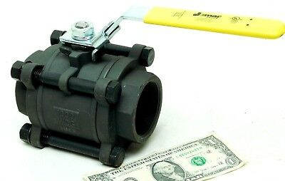 "JOMAR 2"" 1000 WOG Carbon Steel Ball Valve Full Port Stainless Ball-Stem NACE JJ"