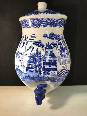 Vintage Blue Willow Lavabo fWall Decor Creative Imports Japan Jug Only