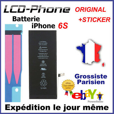 Batterie iPhone 6S Batterie Interne Neuve 0 cycle - Grade AAA - Prix grossiste