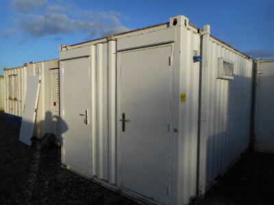 16' x 9' anti vandal toilet 3 + 1 site welfare portable building  £2300 + VAT