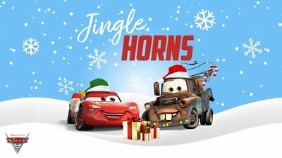 Personalized letter from Santa Claus with CARS Christmas gifts