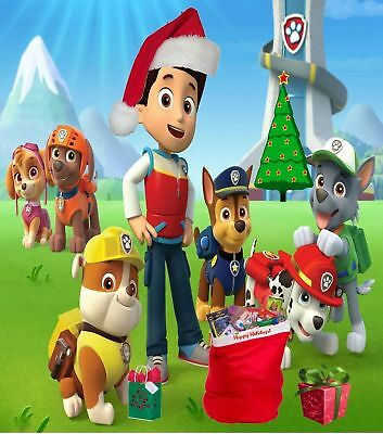 Personalized letter from Santa Claus with PAW PATROL Christmas gifts