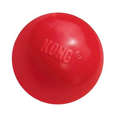 Classic Kong Rubber Ball Dog Toy (Red, 3.1 inch)