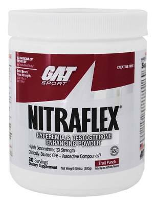 GAT Sport NITRAFLEX Pre-Workout   30 Servings   FREE PRIORITY SHIPPING