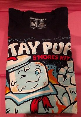 Loot Crate DX Exclusive GHOSTBUSTERS STAY PUFT MARSHMELLOW Man Long Sleeve Shirt