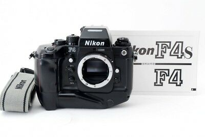 Nikon F4s 35mm SLR Film Camera Body w/ MB-21 From Japan 357745