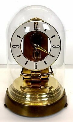 Kieninger Electric Pulse Clock Under A Glass Dome
