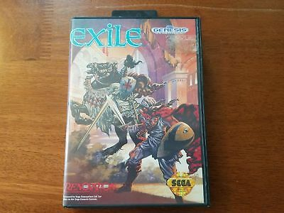 Exile - Authentic - Sega Genesis - Case / Box Only!