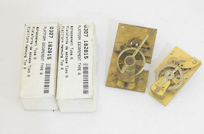 Lot Vintage/ Antique Clock Platform Escapement Watchmakers Watch Parts