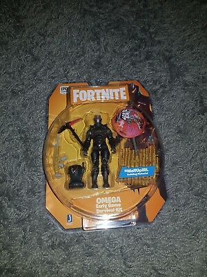 Official Fortnite Omega Figure Survival Kit Pack New Sealed