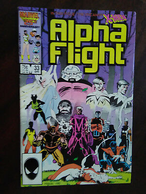 Alpha flight 33 1985 FN+  Combined Shipping