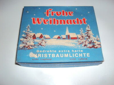 vintage christmas candles with boxwest germany 18 candles twist