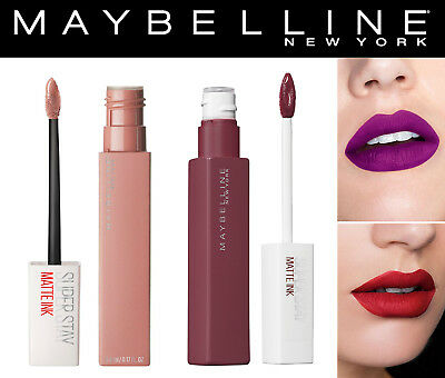 Maybelline Super Stay Matte Ink Lip Color, 15 Shade's *You Choose*