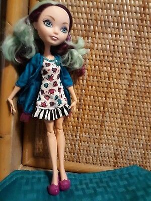 Ever After High Doll Darling Charming with tea cup hat and dress