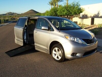 2013 Toyota Sienna LE Wheelchair Handicap Mobility Van 2013 Toyota Sienna LE Wheelchair Handicap Mobility Side Entry Van Best Buy