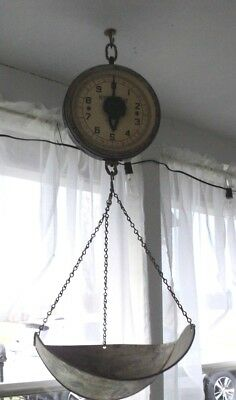 VTG Hanging Scale Produce Mercantile Detecto All Original 20LB