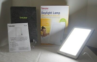 Beurer Daylight Lamp Sunlight Simulation Therapy TL30 LED Portable Home Office
