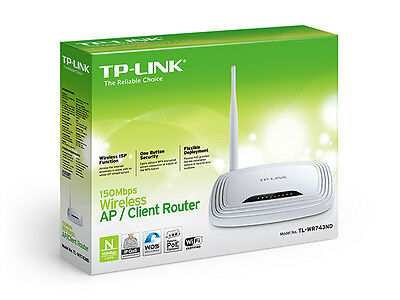 TL-WR743ND Wireless Access Point