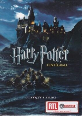 COFFRET DVD L'INTEGRALE DE HARRY POTTER  les 8 films NEUF